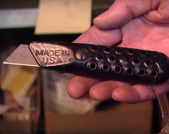 STANLEY vintage utility knife introduced in the year 1936.