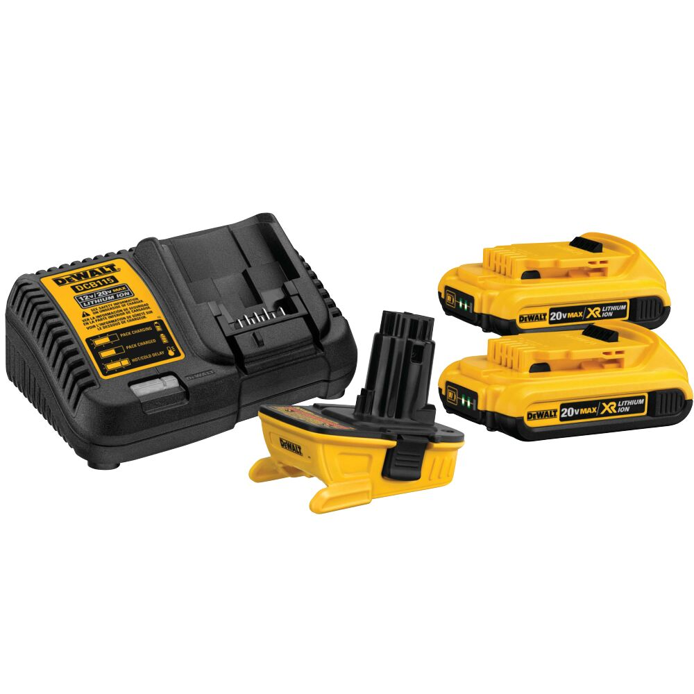 20 Volt Battery Adapter Kit