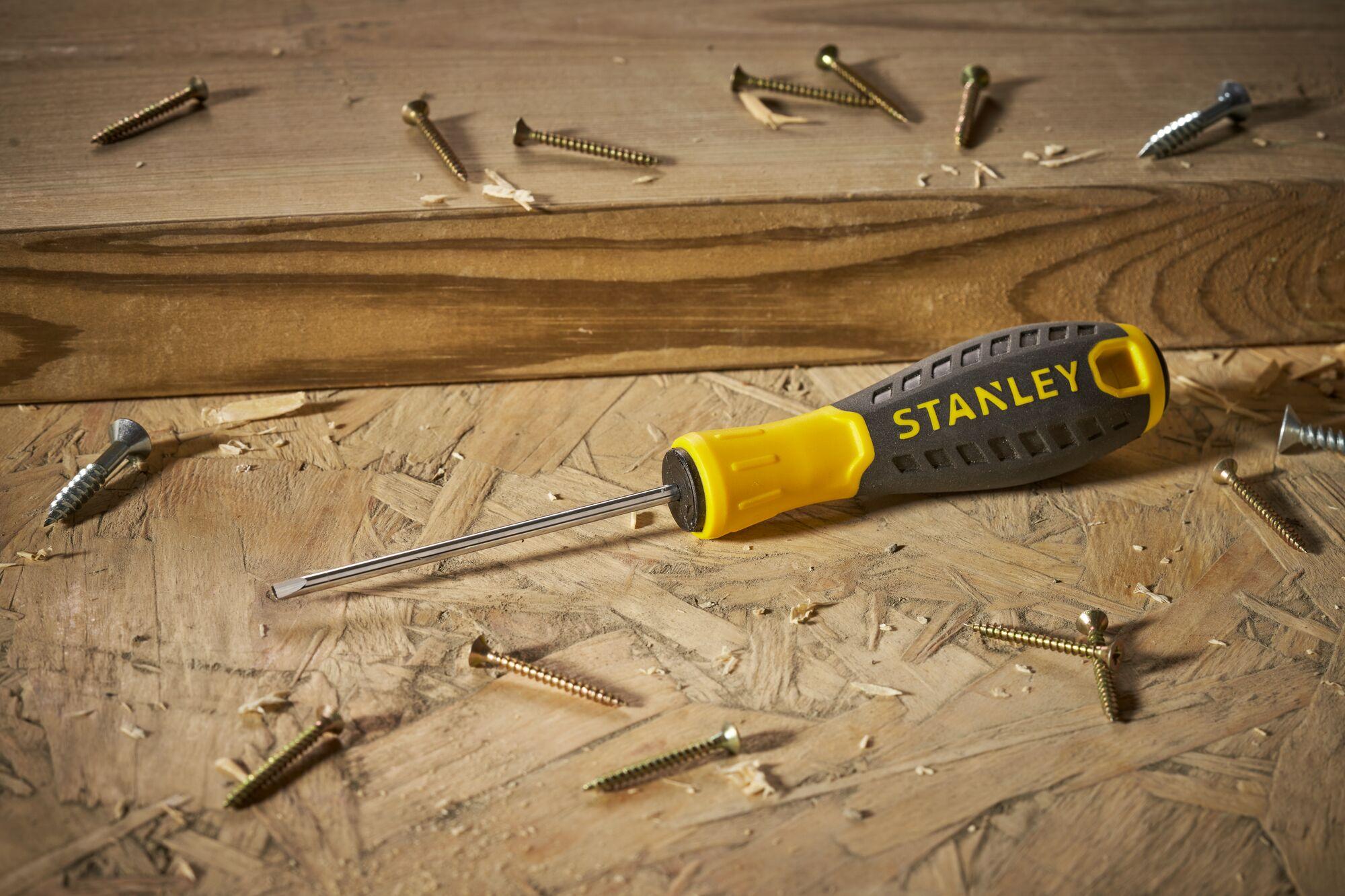 STANLEY® Parallel 3mm x 75mm Essential Screwdriver
