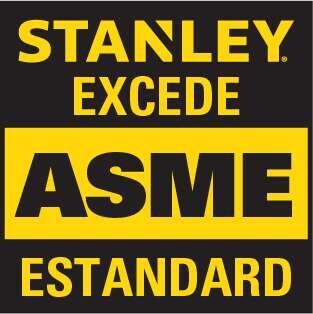 STANLEY exceeds ASME standard