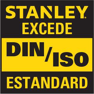 Stanley exceeds the DIN ISO Standard