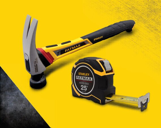 STANLEY introduces the FatMax® Tape Rule and the FatMax Anti-Vibe® Hammer in the year 1999